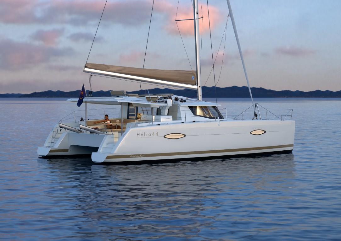 location bateau Helia 44