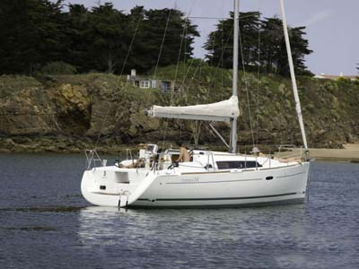 location bateau Oceanis 34.2