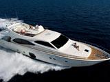 location bateau Ferretti 780