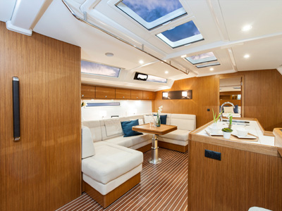 inside Bavaria Cruiser 56