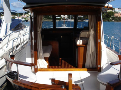 Location bateau  Menorquin 110
