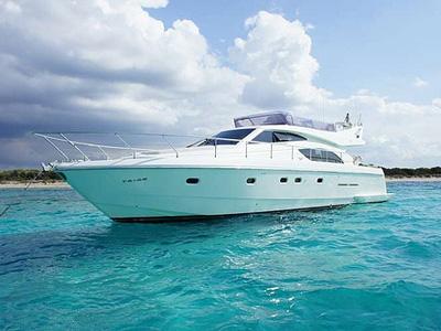 Location bateau  Ferretti 53