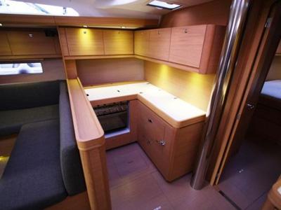 intérieur Dufour 500 GL