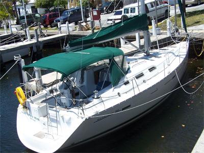 location bateau Beneteau 40