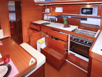 intérieur Dufour 450 GL