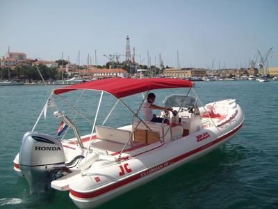 intérieur Jokerboat Clubman 26 Special