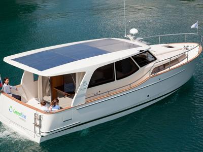 location bateau Greenline 33