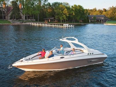 location bateau Larson LXi288