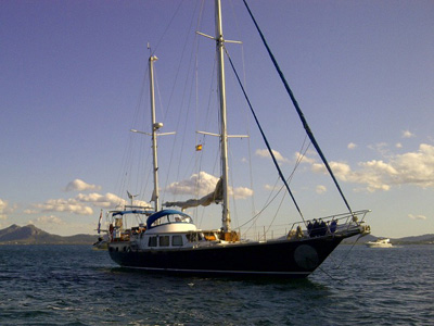 location bateau Stornoway MKII