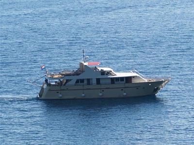 location bateau Korab