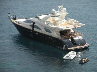 location bateau Azimut 80