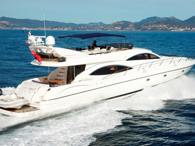 outside Sunseeker Predator 74