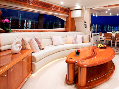inside Sunseeker Predator 74