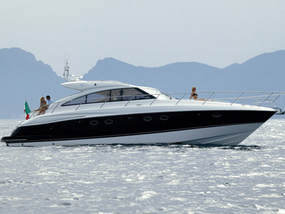 location bateau Princess V53