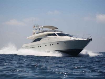 Location bateau  Ferretti 72