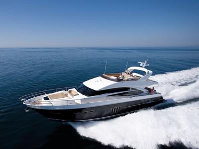 location bateau Princess 72