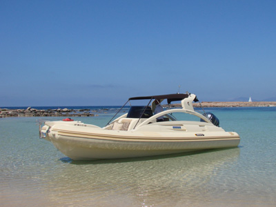 location bateau Solemar Zeus