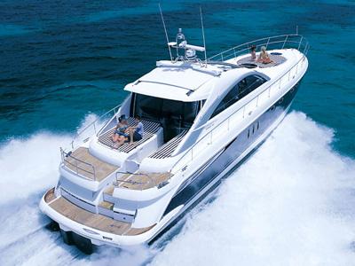 location bateau Targa 62
