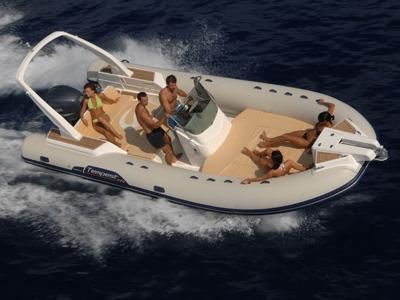 location bateau Capelli Tempest 770