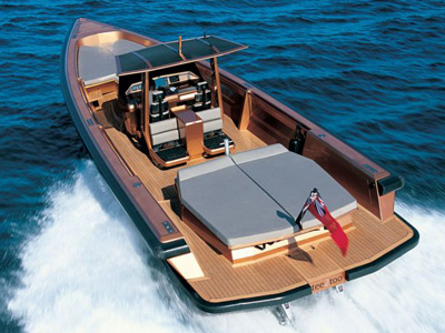 location bateau Wally Tender 45