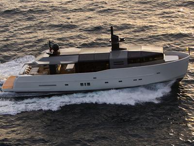 location bateau Arcadia 85