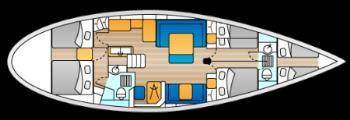 intérieur Swan 53