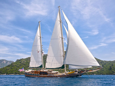 location bateau Grande Mare