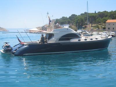 location bateau Franchini Emozione 55