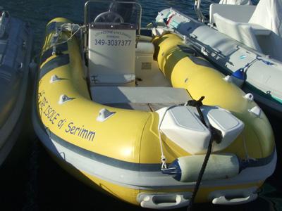location bateau Gommone MT-5
