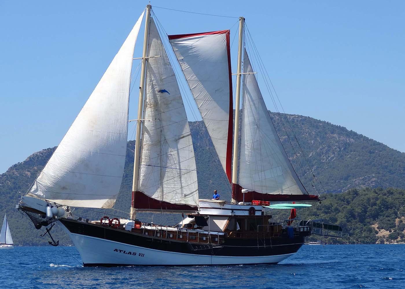 Location bateau  Atlas VII