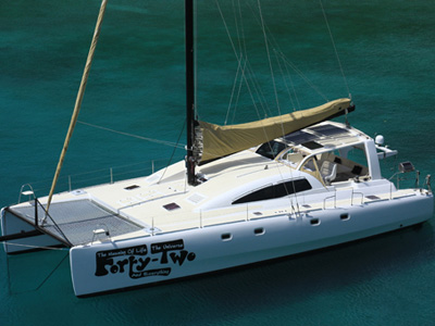 location bateau Yacht Forty Two
