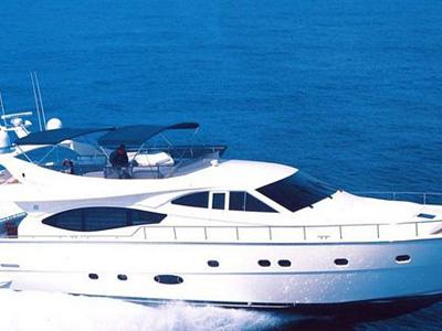 location bateau Ferretti 76