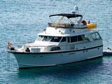 location bateau Hatteras 60