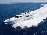 location bateau Ferretti 80