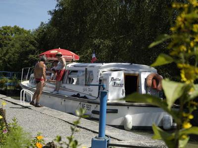 location bateau Belle Fleur