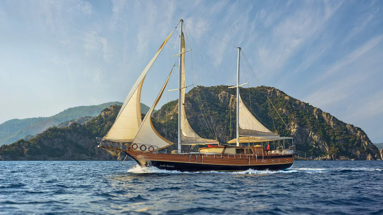 location bateau Sude Deniz