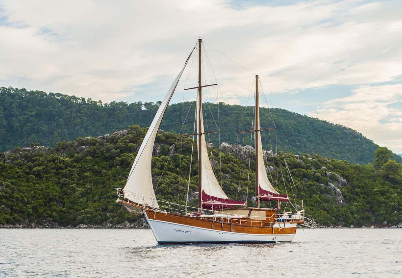 location bateau Laila Deniz