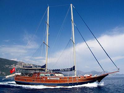 location bateau Diva Deniz