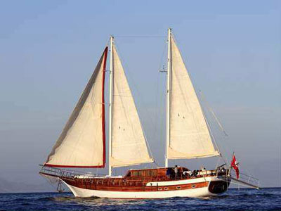 Location bateau  Azra Deniz