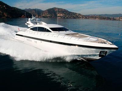 location bateau Mangusta 92