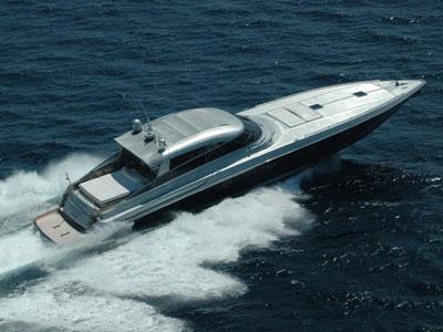 location bateau Baia 80