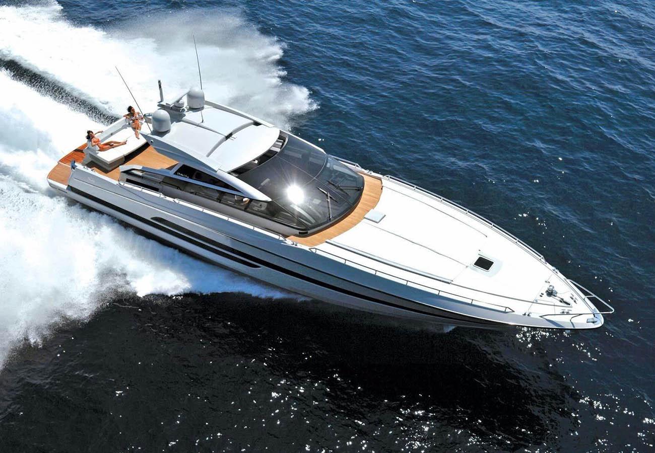location bateau Baia Italia 70
