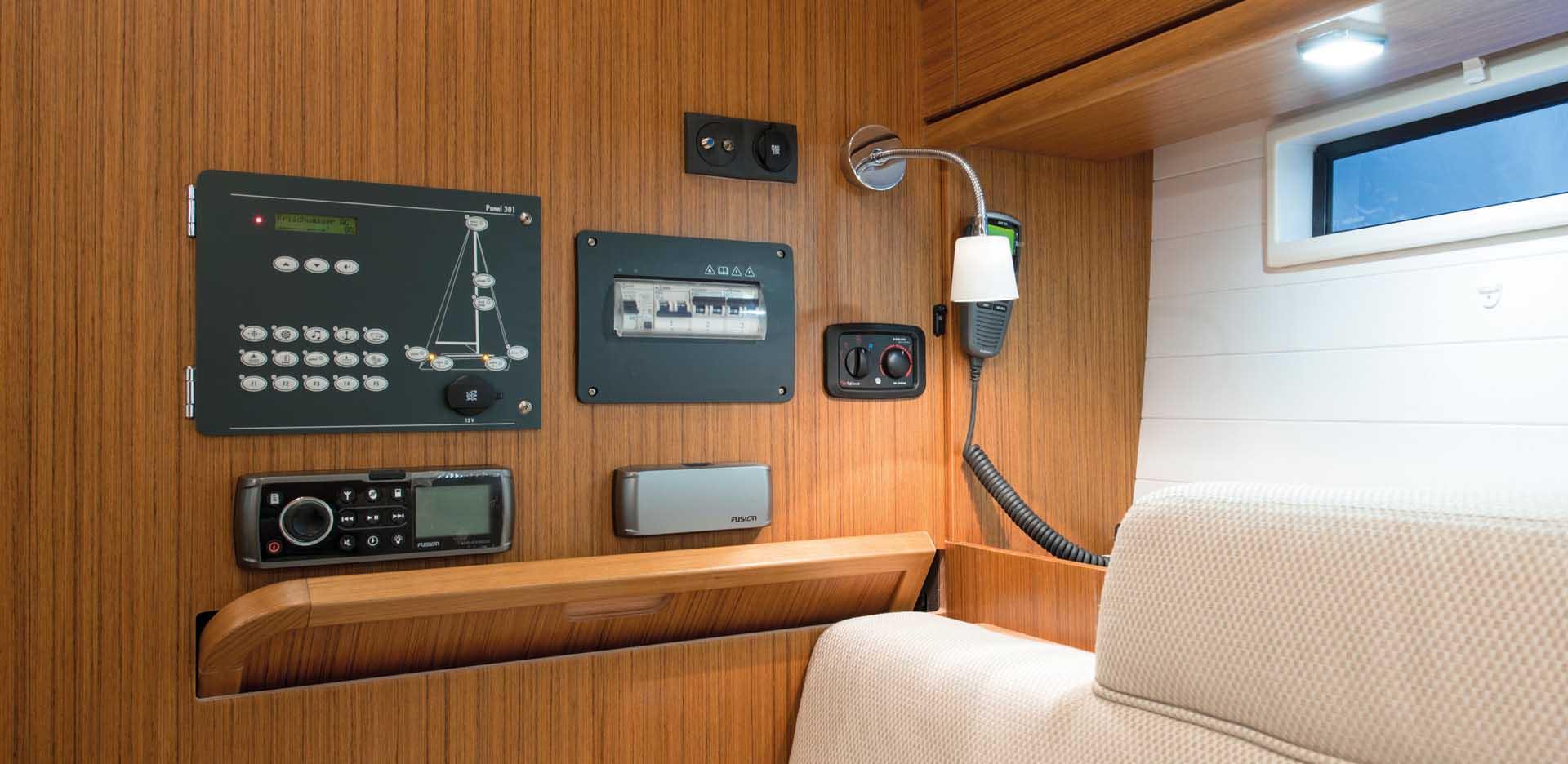 intérieur Bavaria Cruiser 37