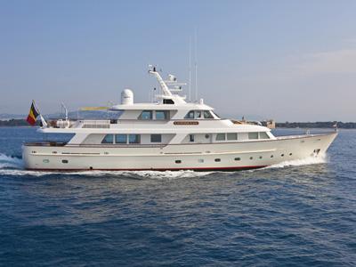 Location bateau  M/Y Cornelia