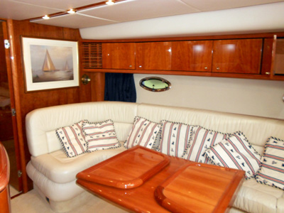 inside Sunseeker Camargue 50