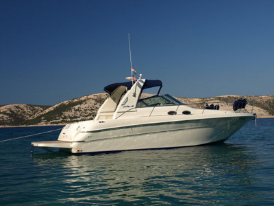 esterno Sea Ray 310 Sunduncer