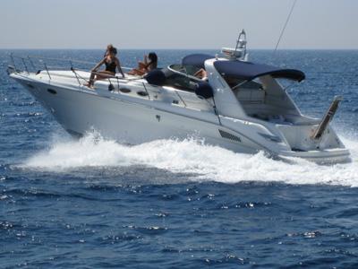 location bateau Sea Ray 370 Sunduncer