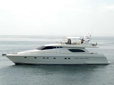 location bateau Ferretti 70