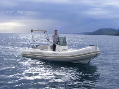 location bateau Capelli Tempest 570