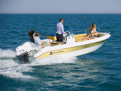 location bateau Allegra 5.60
